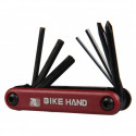 SIMSON MULTITOOL 7 FONCTIONS ROUGE