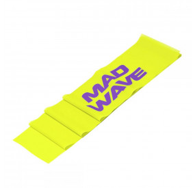 MAD WAVE STRETCH BAND 0.2MM YELLOW