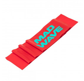 MAD WAVE STRETCH BAND 0.4MM RED