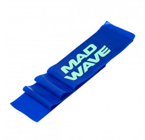 MAD WAVE STRETCH BAND 0.5MM BLUE