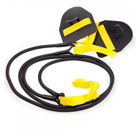 MAD WAVE DRY TRAINING WITH PADDLES - 2,2KG-6,3KG YELLOW