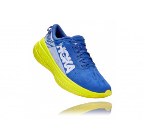 HOKA ONE ONE CARBON X MEN - AMPARO BLUE / EVENING PRIMROSE