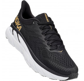 HOKA ONE ONE CLIFTON 7 WOMEN - BLACK/BRONZE