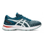 ASICS GEL NIMBUS 22 MEN LIGHT STEEL/MAGNETIC BLUE
