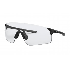 OAKLEY EVZERO BLADES - MATTE BLACK/CLEAR TO BLACK IRIDIUM PHOTOCHROMIC