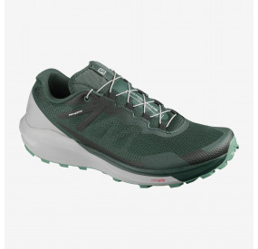 SALOMON SENSE RIDE 3 MEN GREEN GABLES/ALLOY/OIL BLUE