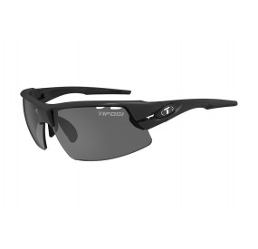 LUNETTES TIFOSI CRIT NOIR MAT (SMOKE, AC RED, CLEAR)