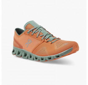 ON RUNNING CLOUD X 2020 MEN ORANGE/SEA
