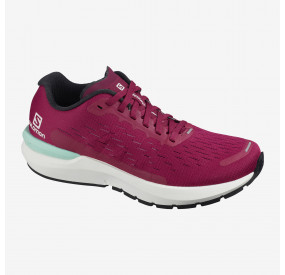 SALOMON SONIC 3 BALANCE WOMEN BEET RED/WHITE/KENTUCKY BLUE