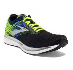 BROOKS RICOCHET MEN BLACK/NIGHTLIFE/BLUE