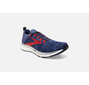 BROOKS RICOCHET 2 MEN DEEP COBALT/BLUE/RED