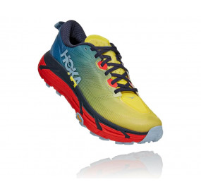 HOKA ONE ONE MAFATE SPEED 3 MEN PROVINCIAL BLUE / FIESTA