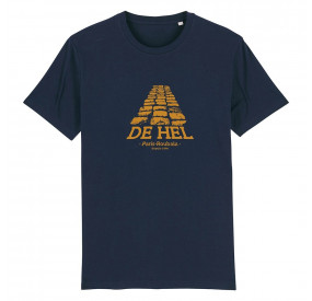 THE VANDAL - T-SHIRT - DE HEL - NAVY