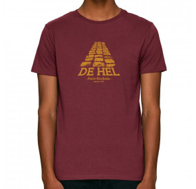 THE VANDAL - T-SHIRT - THE HEL - BORDEAUX