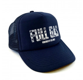 THE VANDAL - FULL GAS TRUCKER CAP - NAVY