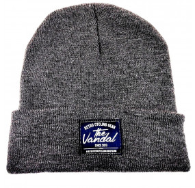 THE VANDAL - RETRO CYCLING GEAR BEANIE - DARK GREY