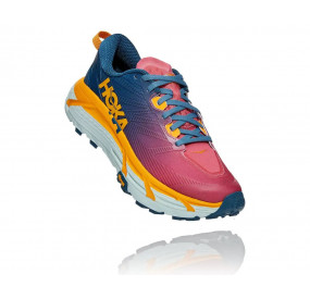 HOKA ONE ONE MAFATE SPEED 3 WOMEN - MOROCCAN BLUE / SAFFRON