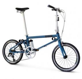 Ahooga Folding Bike - Hybrid (24v) Comfort + Disc brakes/7AhX1