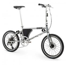 Ahooga Folding - Bike (36v) - Power + Silver