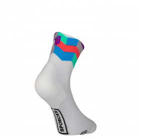SPORCKS TRIATHLON SOCKS - ART WHITE