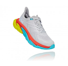 HOKA ONE ONE CLIFTON EDGE MEN LUNAR ROCK/WHITE