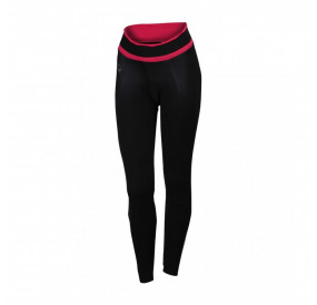 SPORTFUL LADY WINDSTOPPER BIBTIGHT WOMEN - BLACK/PINK
