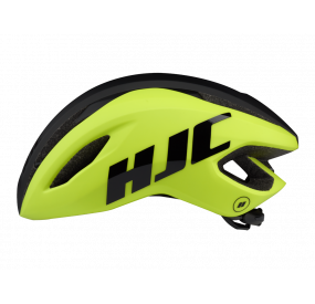HJC VALECO MATT HIVIS. YELLOW BLACK