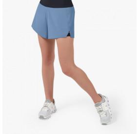 ON RUNNING - RUNNING SHORT - WOMEN - CERULEAN/BLACK