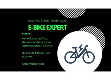 Urban tri sports - E-bike